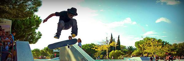 Le skatepark d'Hyères, une marmite à skateurs pros ! Épisode 1
