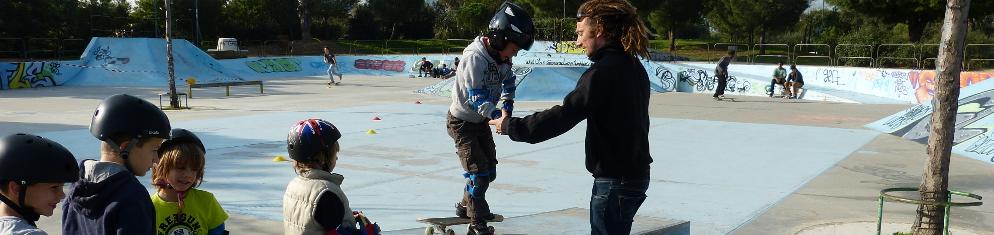 L'école municipale de skateboard à Hyères