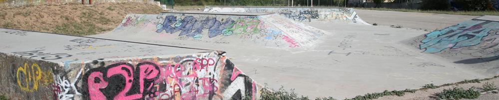 Cours de skate au skatepark de La Farlède (83)