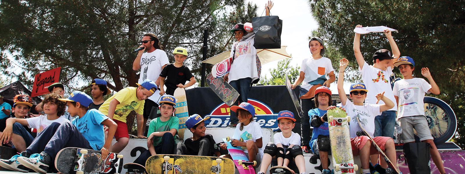 Cours de skate au skatepark de Hyères – 6-9 ans