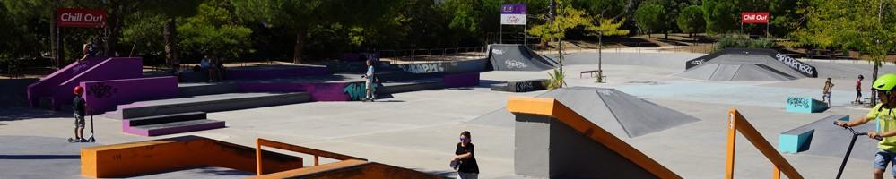 Cours de skate au skatepark d'Hyères (83)